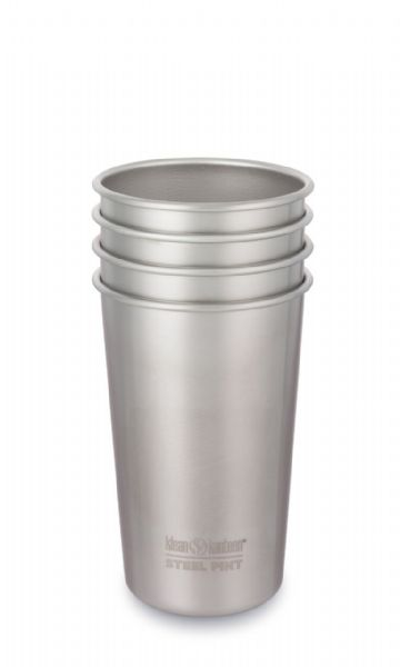 Klean Kanteen Steel Tumbler 4 pack 473ml